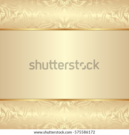 vintage background with decorative pattern