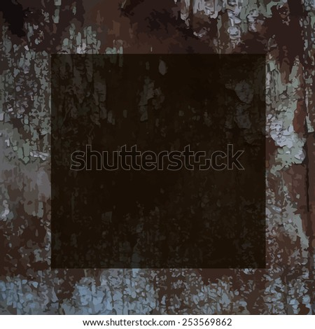 Vintage background with rust. Vector