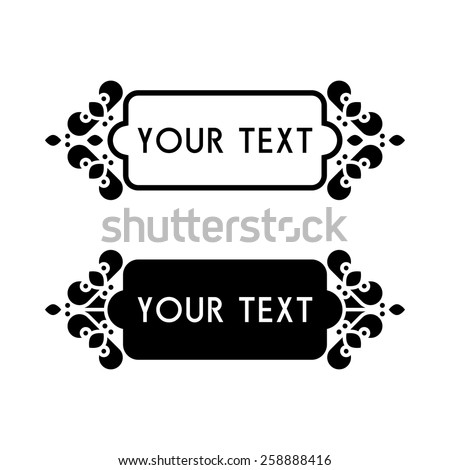 vintage banners decorative elements - stock vector