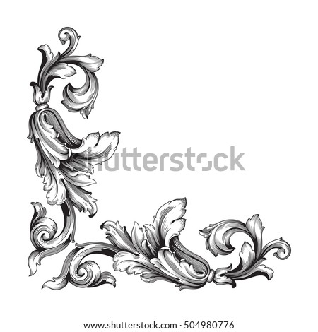 Vintage Baroque Frame Scroll Ornament Engraving 368052881 moreover 155364570 also  likewise 1920s photos flapper dress in addition Post vector Corner Border Hd 59818. on art deco decorative line