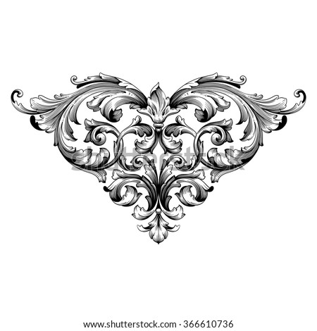 Antique Scroll Design: Filigree Stock Photos, Royalty-Free Images & Vectors