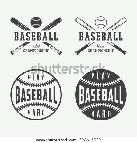 Fond De Base-ball De Vintage Image stock - Image: 40955705