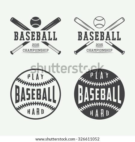 Vintage Baseball Logos 29