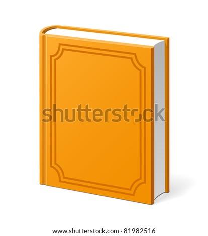 Vintage book - stock vector