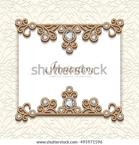 Invitation Cards Jewellery Choice Image - Invitation