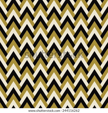 vintage chevron pattern of corners in art deco style. can be tiled seamlessly. each color in separate layer, easy to change. - stock vector
