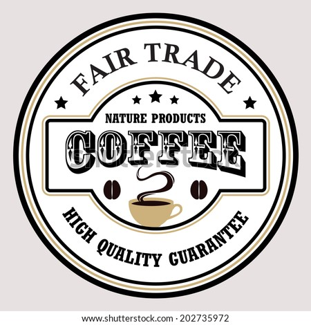 Vintage coffee badges and labels. / vretro coffee badges / labels / emblems  - stock vector