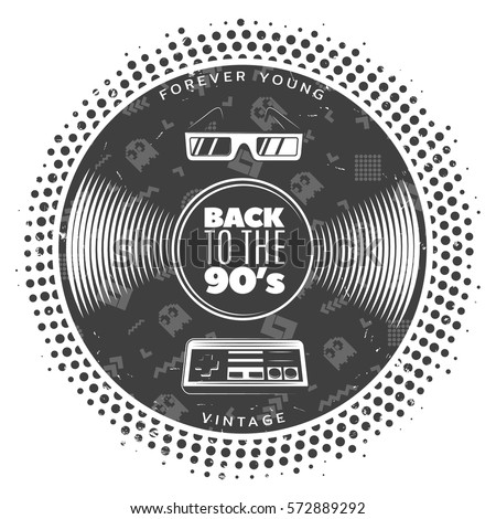 Oringal glass vintage records lp