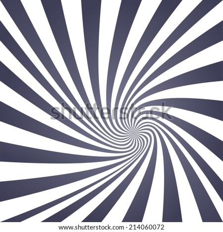 Vintage grey spiral design background - vector version - stock vector