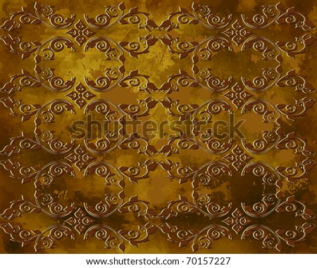 vintage grunge background with a pattern