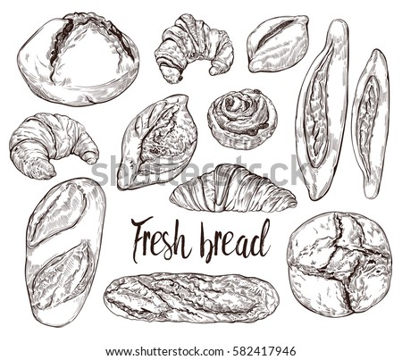 how to draw a pastry