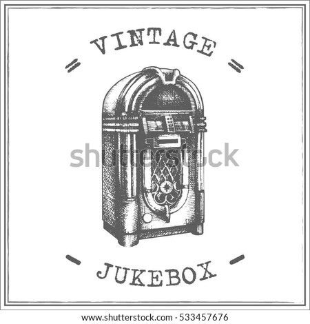 jukebox labels template - vintage jukebox stock images royalty free images