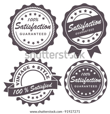 vintage label - stock vector