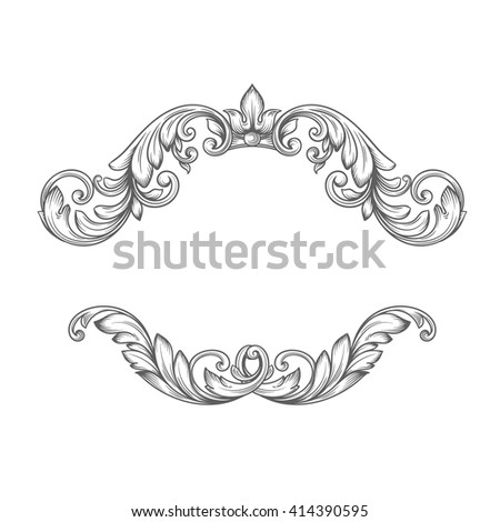 Victorian Design Elements vintage label frame design elements victorian stock vector
