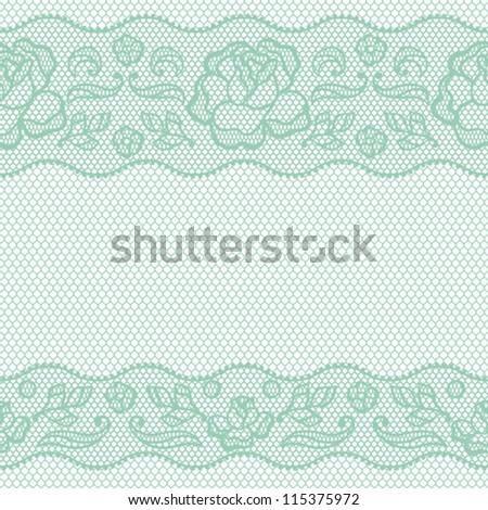 Vintage lace background, ornamental flowers. Vector texture.