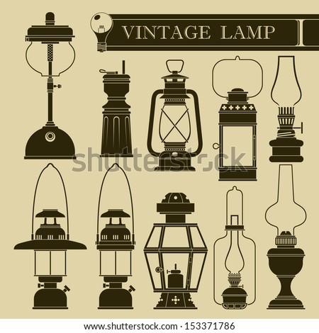 Vintage lamp I