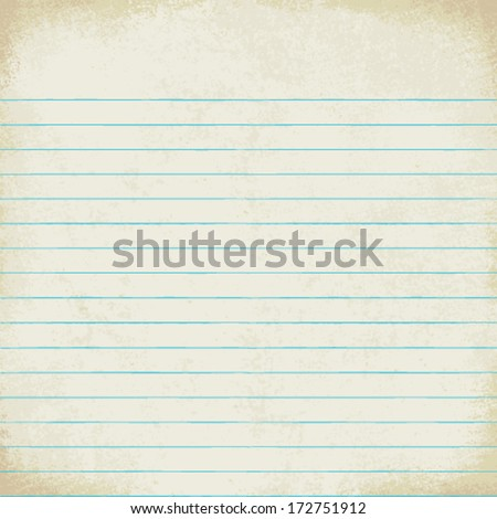 Vintage lined paper vector background 4 - stock vector