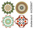 vintage mandala designs for decoration - stock photo