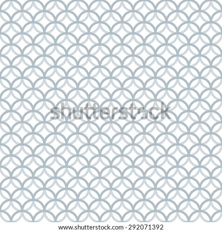 Vintage Mono Line Seamless Pattern. Perfect Vector Background for Greeting Cards, Wedding Invitations, Retro Parties.  - stock vector