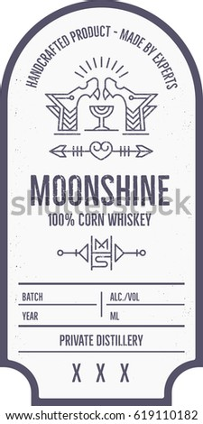 moonshine label template - photo #13