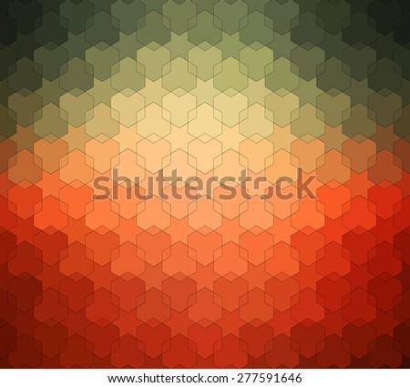 Vintage pattern. Ethnic vector textured background for your design - stock vector