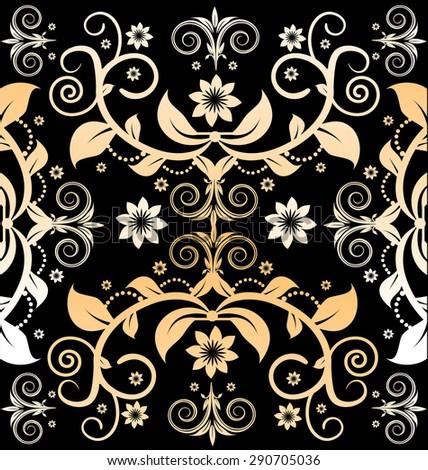 Vintage pattern (vector) - stock vector