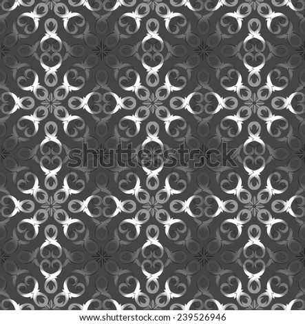 Vintage retro seamless pattern. Vector illustration