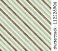 vintage seamless diagonal strokes in blue, grey and brown - stock photo
