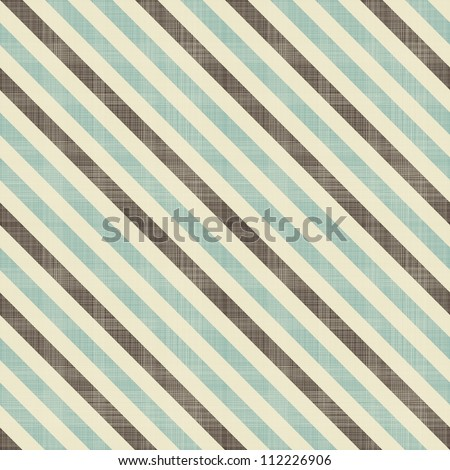 vintage seamless diagonal strokes in blue, grey and brown - stock vector