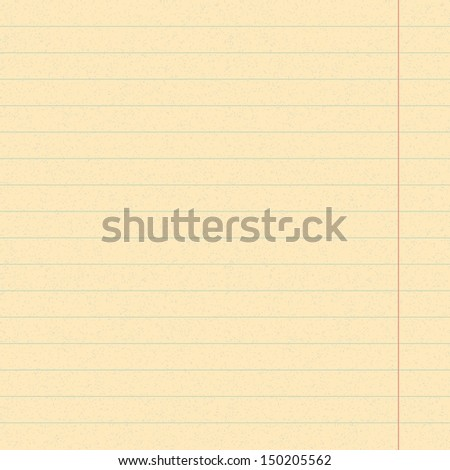 Lined Notebook Paper Stock Photos, Royalty-Free Images & Vectors