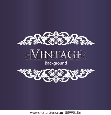 vintage style - stock vector