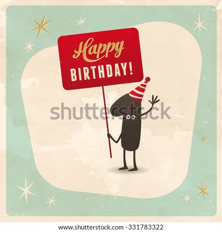 1st Birthday Card Images RoyaltyFree Images Vectors – How to Sign a Birthday Card