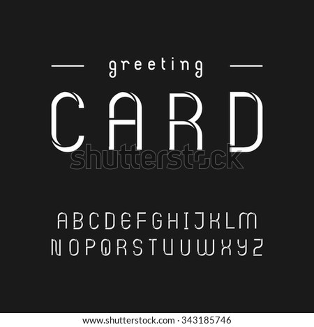 Sans serif font stock images royalty free images vectors vintage style stencil font in uppercase thecheapjerseys Gallery