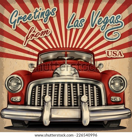 Vintage Las Vegas Stock Images Royalty Free Images Vectors