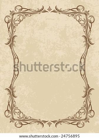 Vintage vector background. - stock vector