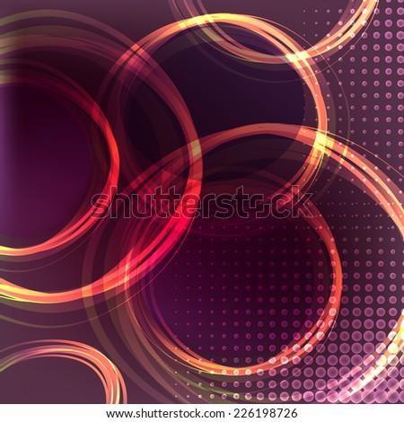 Violet background - stock vector