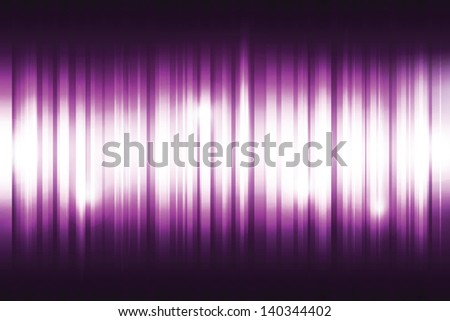 Violet digital equalizer background. Vector illustration