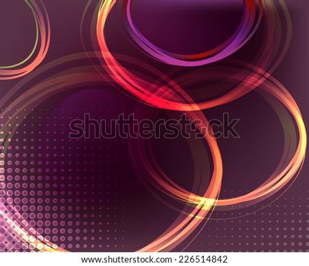 Violet vector background - stock vector