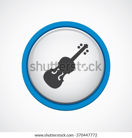 violin Icon Vector. violin Icon Art. violin Icon Picture. violin Icon Image. violin Icon logo. violin Icon Sign. violin Icon Flat. violinr Icon design, on white background - stock vector