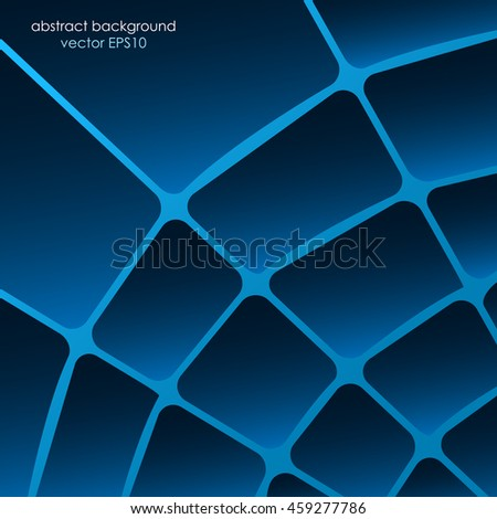 Virtual net abstract background
