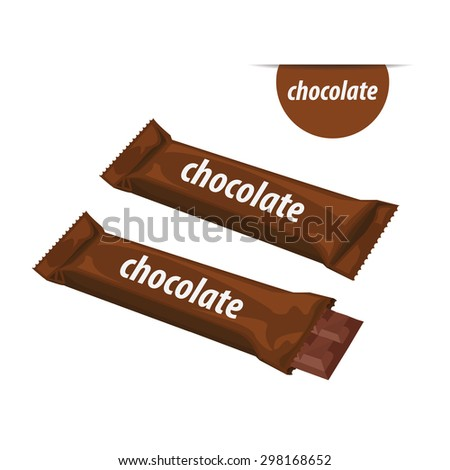 Candy Bar Wrapper Clipart