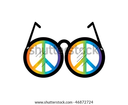 Visualize Peace - stock vector
