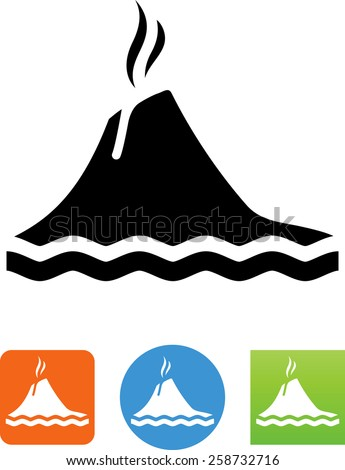 Volcano Symbol Stock Images, Royalty-...