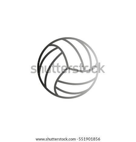how to draw a volleyball ball
