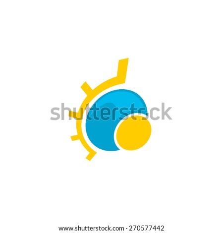 Pull Push Door Signs Stickers Set Stock Vector 209738323
