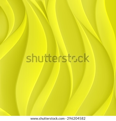 Volumetric waves texture, wavy background. Abstract composition. Vector illustration. - stock vector