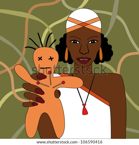 Voodoo - stock vector