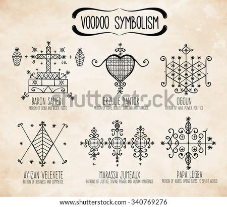 Voodoo Symbol Tattoo