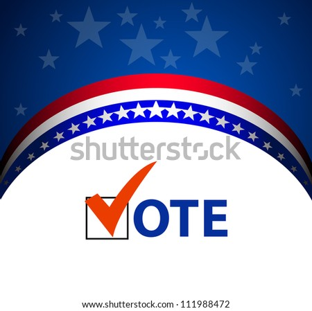 Voting Symbols vector - stock vector