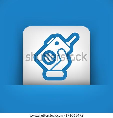 Walkie talkie - stock vector